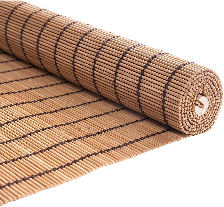 ofreciendo 100% Estores de bambú Persianas de bambú, Cortina Enrollable de de de la Cortina de la Oficina de la casa de té, persianas del Rodillo de la Ventana Que levantan el tirón Lateral con Cenefa  ofrecemos varias marcas famosas