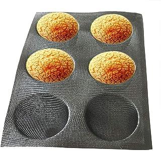 moules /à Muffins et Baguettes CARRYKT Moule de Cuisson pour Muffins et Petits Pains en Silicone