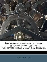 Patrones de historia de vida de tres estrellas británicas estuarinas (ophiuroidea) en Cedar Key, Florida