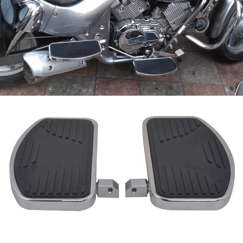 Motorcycle Floorboard Front//Rear passenger foot pegs Fit for HONDA SHADOW VT400 VT750 1997-2003 Floorboards Foot Pegs Pair color tree