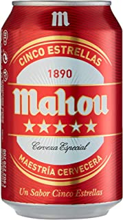 comprar comparacion Mahou Cerveza - Paquete de 24 x 330 ml - Total: 7920 ml