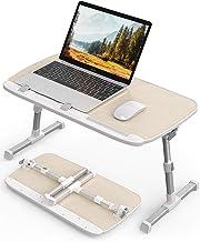 AboveTEK Laptop Desk for Bed, Portable Laptop Table Tray with Foldable Legs, Height Adjustable Foldable Laptop Desk for Ea...