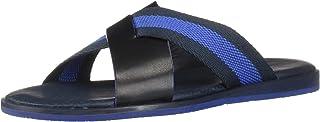 Ted Baker Men's Bowdus Flat Sandal, Dk Blue, 9 Regular US