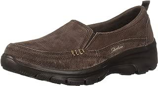 Skechers Womens 49531 Easy Going - Matcha - Twin Gore Slip-on Loafer