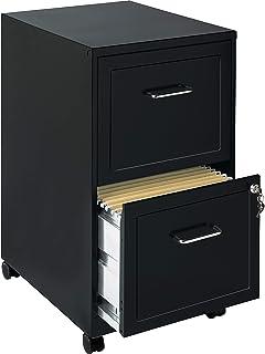 Lorell File Cabinet, Black -