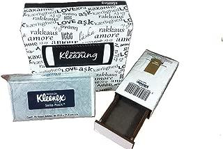 2 Pack Kleenex Small and Pocket Diversion Safe Box Stash Hidden Storage for Cash 2 Pack Bundle Secret Box Discreet Safes Travel Money/Bank/Keys