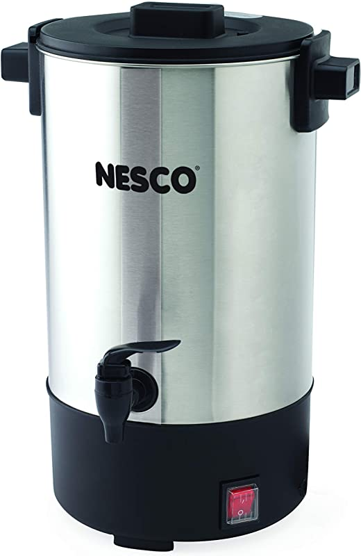 NESCO CU 25 Professional Coffee Urn 25 Cups Stainless Steel