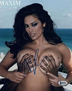 Ashley Graham Signed Autographed 8x10 Photo Hot Sexy SI Swimsuit Model BAS COA