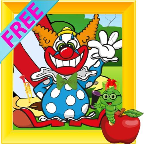 Lustiger Clown Hidden Objects
