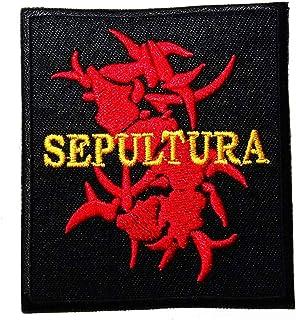 MUSIC S Brazilian heavy metal band Groove metal thrash metal Death metal Alternative metal Black band music style logo pat...