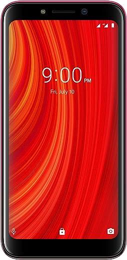 LAVA Z61 Pro (Amber Red, 2GB RAM, 16GB Storage)