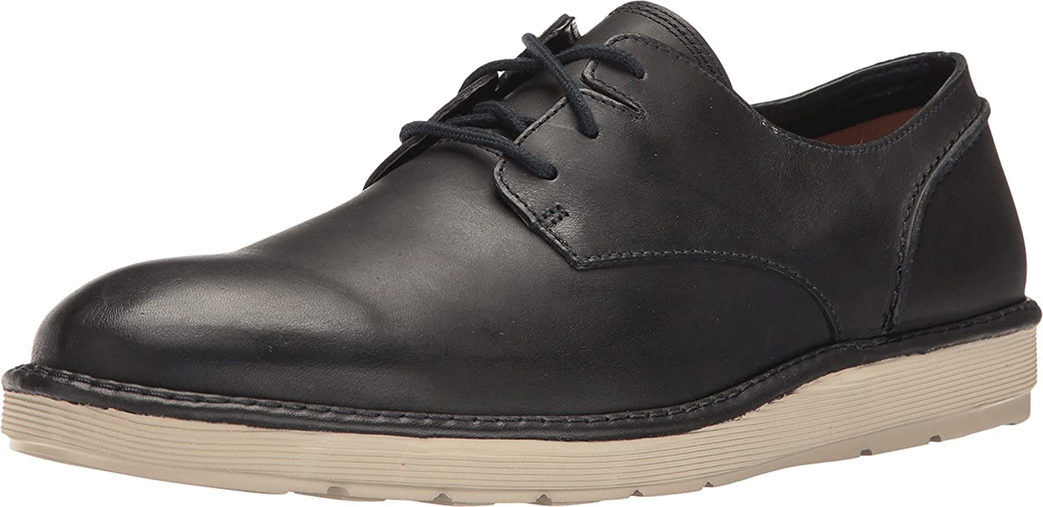 Clarks Men's Fayeman Lace Oxford,Navy Cow Full Grain Leather,US 12 M