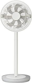 カモメファン 扇風機 リビングファン 28cm 首振り リモコン付き ホワイト FKLU-281D WH...