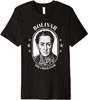Simon Bolivar Shirt South America Venezuela El Libertador Premium T-Shirt
