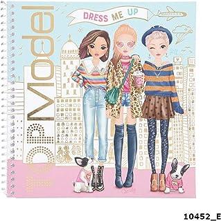 Depesche 10452 Sticker Book TopModel Dress Me Up, gesorteerd