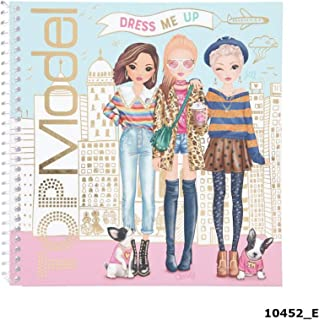 Depesche 10452 Sticker Book TopModel Dress Me Up