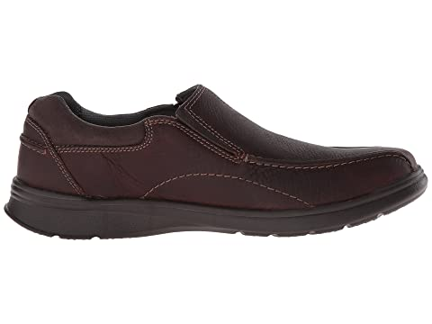 Cheap Sale Great Deals Clarks Cotrell Step Brown Oily Leather Sale Fast Delivery Clearance For Cheap Affordable Cheap Online KO3tP0