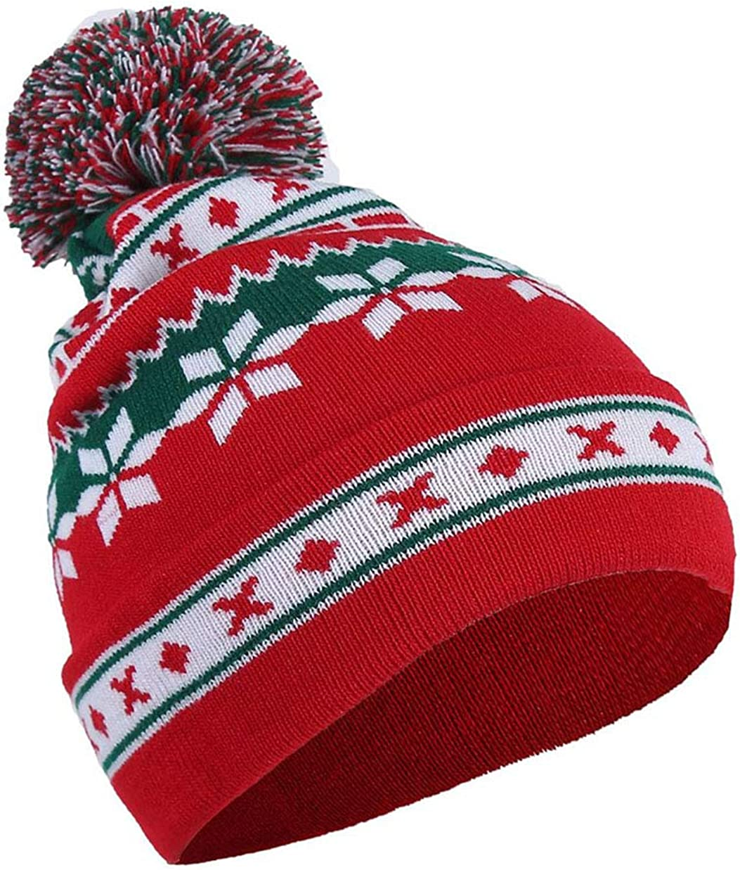 MHKECON Max 85% OFF Adult Christmas X-Mas Santa Holiday Sale SALE% OFF Winter Fashion Beani