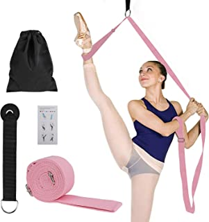 MaoXinTek Correa de Yoga, Ballet Banda Elástica para Piernas, Cinturón Equipo Cinta para la Pierna de Estiramientopara para Baile, Gimnasia, Entrenamiento de Gimnasia, Taekwondo