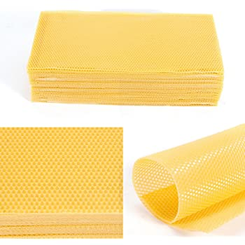 High Quality Wax foundation 30 pcs for Beehive frames