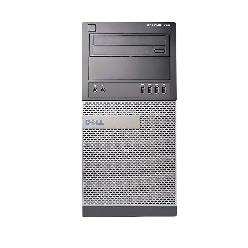 シェア独特のセグメントDELL 790タワー、Core i5300、3.1GHz、4GB RAM、250GB ハードドライブ、DVDRW、Windows 10 Pro 64bit (更新済み)。
