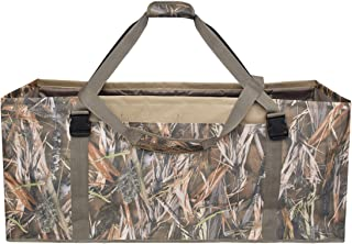 UBOWAY 12 Slot Duck Decoy Bag – Slotted Decoy Bags with Independent Slots Adjustable Shoulder Strap Dirt Drain Design for Duck Decoys