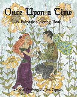 Once Upon a Time: A Fairytale Coloring Book