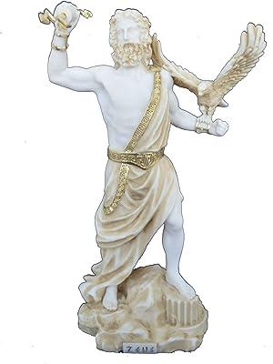 Color Blanco Dise/ño Toscano STFRANCIS y Amigos de la Selva Bonded m/ármol Estatua de Resina