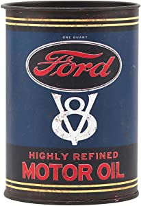 Open Road Brands Ford Motor Oil Metal Can