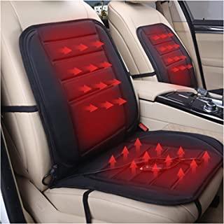 Greatly Store 1 Pair 12V Universal Car Heated Seat Cushion Heated Seat Covers 30W-38W 45-65 Degree Adjustable Auto Heating...