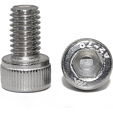 x10 M5x35 Zylinderschrauben mit Innensechskant Edelstahl A2 DIN 912