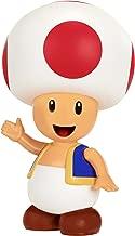 World of Nintendo Nintendo Red Toad Action Figure, 4