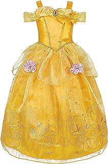 INGSIST Vestidos de Princesa para niña Disfraz Fiesta de