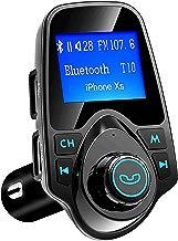 VicTsing 1.44'' LCD Car Bluetooth FM Transmitter