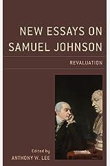 New Essays on Samuel Johnson: Revaluation (English Edition) Format Kindle