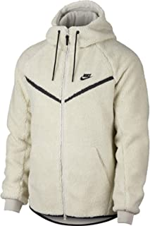 NIKE Men's Sportswear Windrunner Tech Fleece Sherpa Hoodie