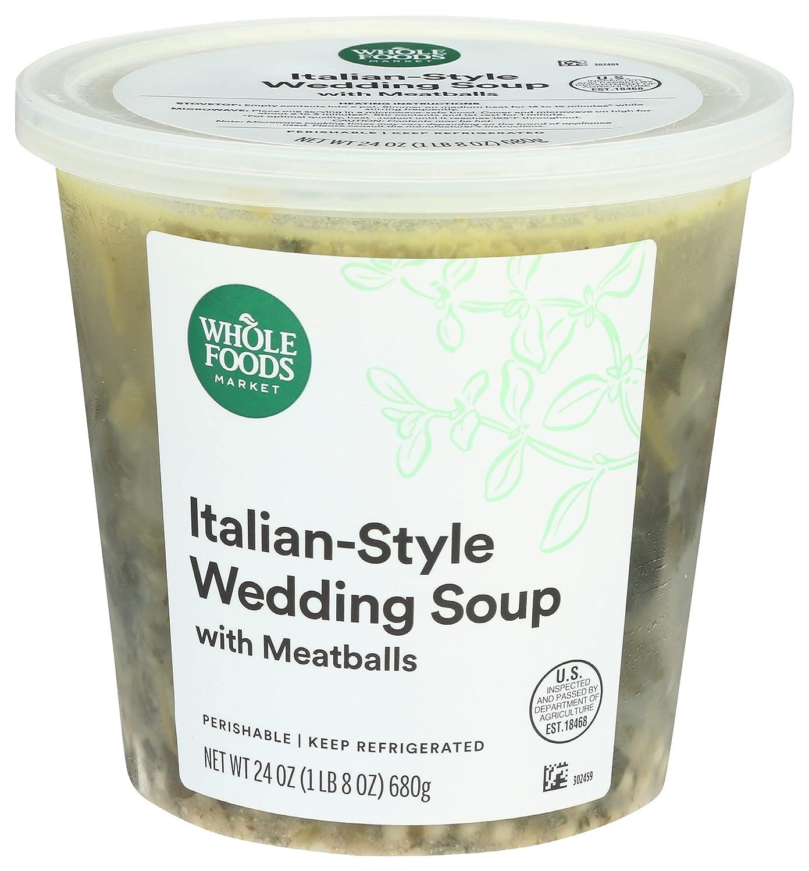 Whole Foods Market Italian Wedding Ounce Washington Mall mart 24 Soup