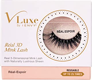 Kiss Vluxe Real 3D Mink Lashes Real Espoir