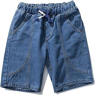 4461bb68fb06 Aancy Men s Shorts Cotton Fitness Pants Man Solid Slim Fit Denim Shorts  Jeans Plus Size 4XL