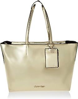 Calvin Klein Must PSP Med Shopper M Bag, Beige , 39 cm, K60K606190