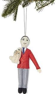 Silk Road Bazaar Felt Mr. Rogers Ornament