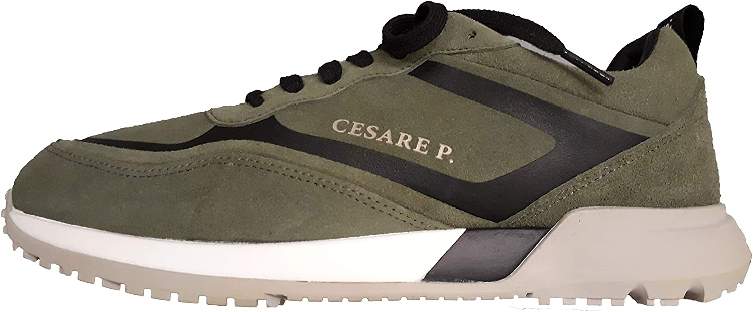 CESARE P. by Paciotti Men's Trainers Musk Black