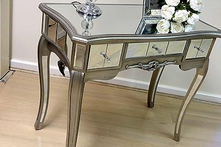 Generic Onsole V Vintage Rouge De Venise Bedr Table Console E Vene Verre  Shabby Etian Miroir