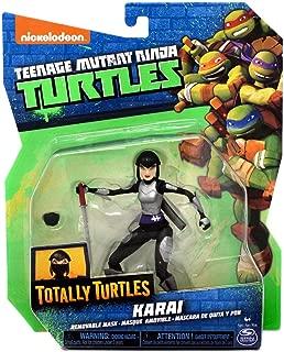 Teenage Mutant Ninja Turtles Nickelodeon Totally Turtles Karai Action Figure [Removable Mask]