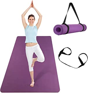 CAMBIVO Extra Wide Yoga Mat for Women and Men (72