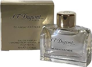 S.t. dupont - S.t dupont 58 avenida de montaigne espuma de poliuretano para femme cortinas de agua de 5 ml de corte diago...