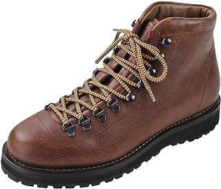 BRUNELLO CUCINELLI Chaussures Homme Marron Sombre 100% Cuir Bottes 41.5