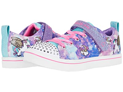 SKECHERS KIDS Twinkle Toes Sparkle Rayz Unicorn Moondust 314848L (Little Kid) (Purple/Multi) Girl