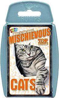 Winning Moves Top Trumps Cats Card, Multi-Colour, 14 x 8.9 x 1.9 cm, TT023696