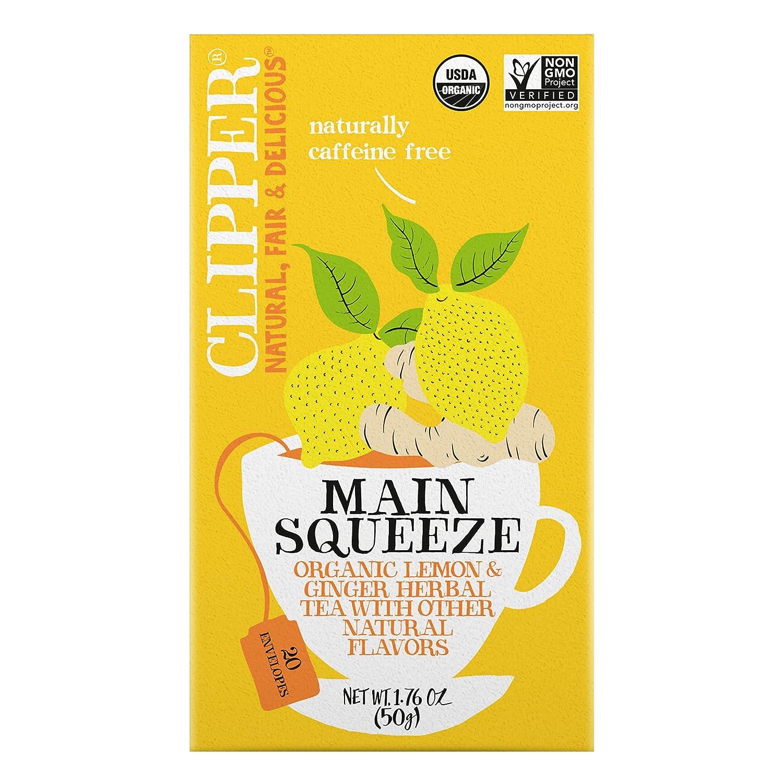 Clipper Natural, Fair & Delicious Tea Main Squeeze Org 1.76 OZ (Pack of 1)